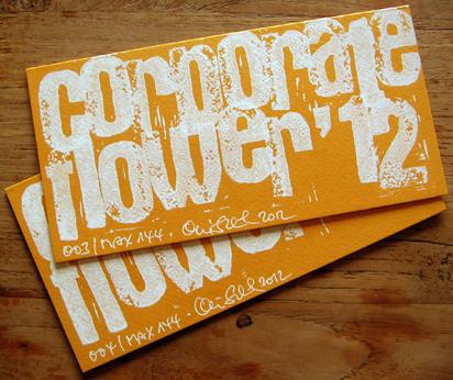 corporate flower karte 2012